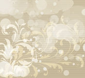 Fond floral abstrait Photographie stock libre de droits