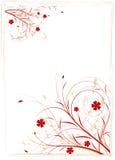 Fond floral abstrait Photographie stock
