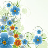 Fond floral abstrait Images stock