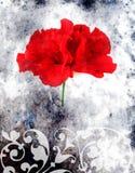 Fond floral abstrait illustration stock