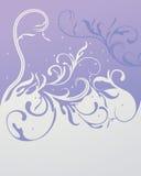 Fond floral abstrait avec la place pour votre tex illustration de vecteur