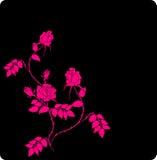 Fond floral abstrait avec la place pour votre tex illustration libre de droits
