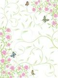 Fond floral abstrait de vecteur illustration de vecteur