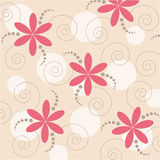 Fond floral abstrait de vecteur Image stock