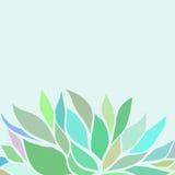Fond floral abstrait de vecteur Photographie stock libre de droits