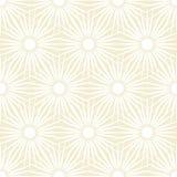 Fond floral beige d'explosion Image libre de droits