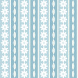 Fond floral bleu Image libre de droits