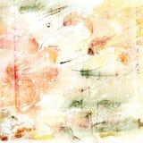 Fond floral. Bouquet floral d'aquarelle. Carte d'anniversaire. Images libres de droits