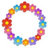 Fond floral coloré - illustration, vecteur Image libre de droits