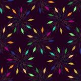 Fond floral coloré sans joint de configuration Lacez la texture pour le textile, papier peint, décoration, tissu, papier de chute illustration de vecteur