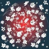 Fond floral créateur Belle conception d'été illustration de vecteur
