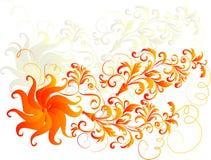 Fond floral décoratif Photographie stock libre de droits