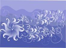 Fond floral décoratif Photos libres de droits
