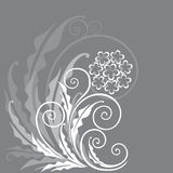 Fond floral décoratif Photo stock