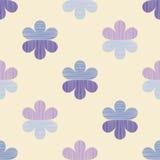 Fond floral décoratif sans joint Texture de griffonnage Rétro motif Photographie stock
