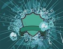 Fond floral d'écran protecteur Images libres de droits