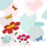 Fond floral d'été Image stock