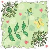 Fond floral d'été coloré Photos stock
