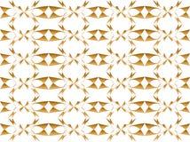 Fond floral d'or abstrait illustration stock