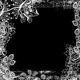 Fond floral d'album à cru Images libres de droits