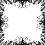 Fond floral d'album à damassé de cru sale Image libre de droits