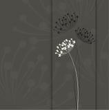 Fond floral de cru Image stock