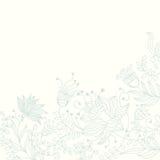 Fond floral dans des couleurs légères illustration libre de droits