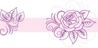 Fond floral de carte Photo libre de droits