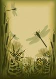 Fond floral de cru Photographie stock libre de droits