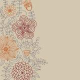 Fond floral de cru Photo stock