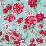 Fond floral de cru Images stock