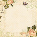 Fond floral de cru illustration libre de droits