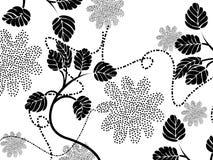 Fond floral de cru Images libres de droits