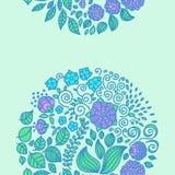 Fond floral de décor d'ensemble d'éléments de griffonnage de tatouage Photos stock