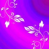 Fond floral de gradient Images stock