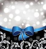 Fond floral de Noël, éléments ornementaux Photos stock