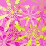 Fond floral de source - rose illustration stock