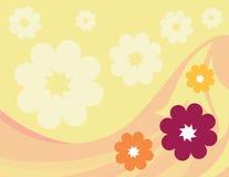 Fond floral de vecteur Photo stock