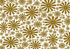 Fond floral de vintage, texture Image libre de droits