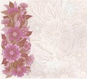 Fond floral de vintage, vecteur Photo libre de droits