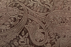 Fond floral en cuir de configuration Photo stock