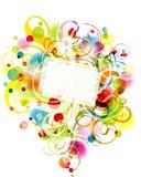 Fond floral, eps10 illustration de vecteur