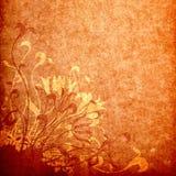 Fond floral grunge illustration stock