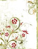 Fond floral grunge Image libre de droits