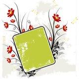 Fond floral grunge Photos libres de droits