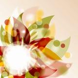 Fond floral, illustration Photos libres de droits