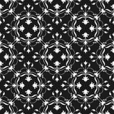 Fond floral Illustration décorative de vecteur Configuration monochrome Élément élégant pour le calibre de conception Décor de de Images stock