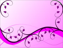 Fond floral lilas Images stock
