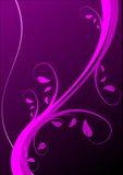 Fond floral magenta Images libres de droits