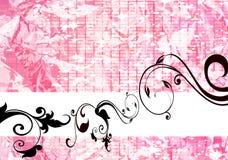 Fond floral rose Images libres de droits